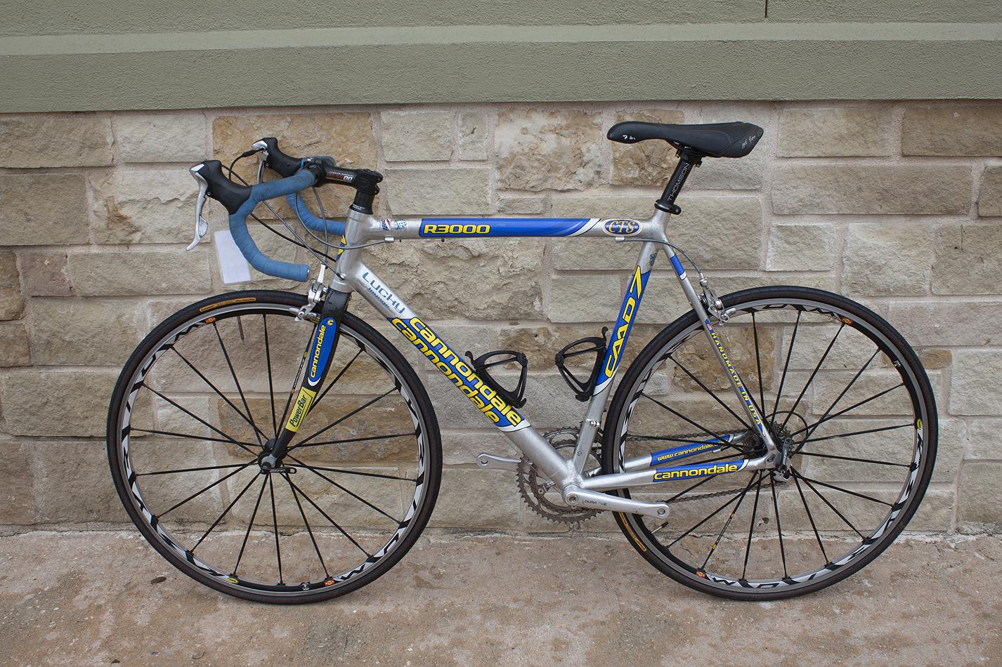 Dettagli su  2003 Cannondale R3000 Caad 7 Road Bike 60cm