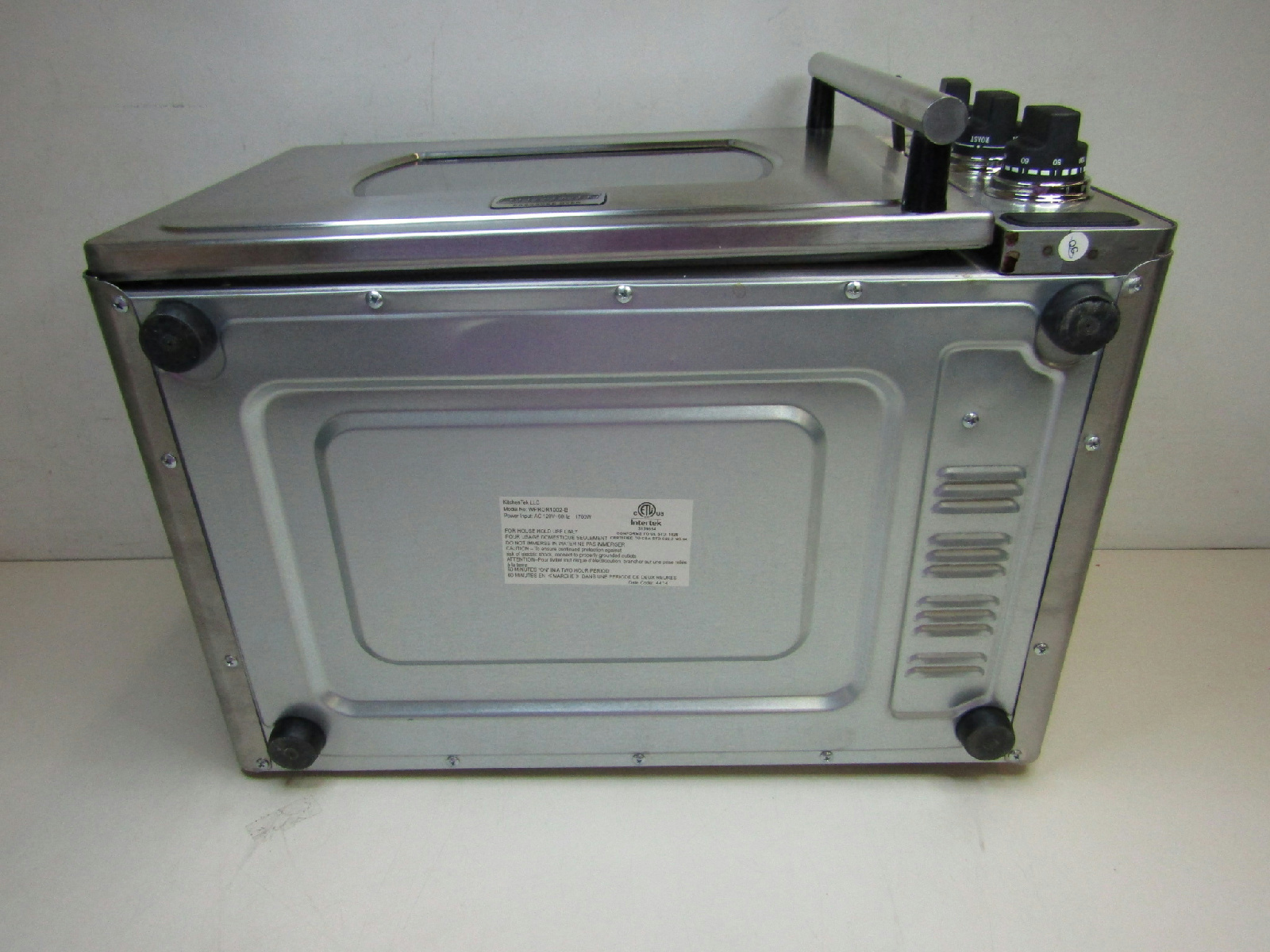 Wolfgang puck kitchentek pressure oven wpror1002 b bundle for Wolfgang puck pressure oven