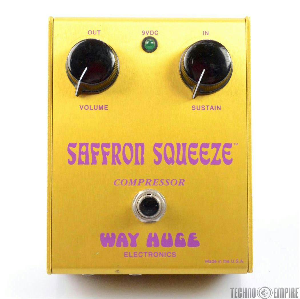 WAY HUGE ELECTRONICS Saffron Squeeze Compressor Pedal Owned by Jerry Finn #27349