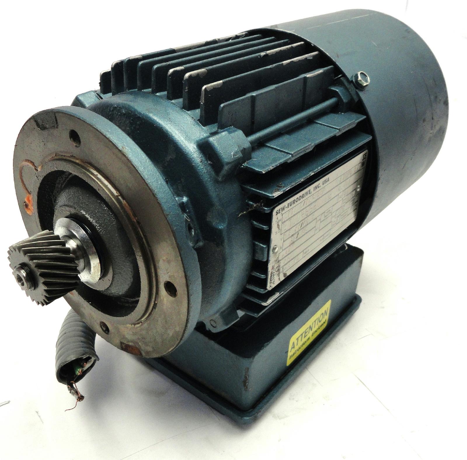 Sew eurodrive dft71c4bmg05hr 1 3hp 230 460v ac 1720rpm for Sew eurodrive gear motor