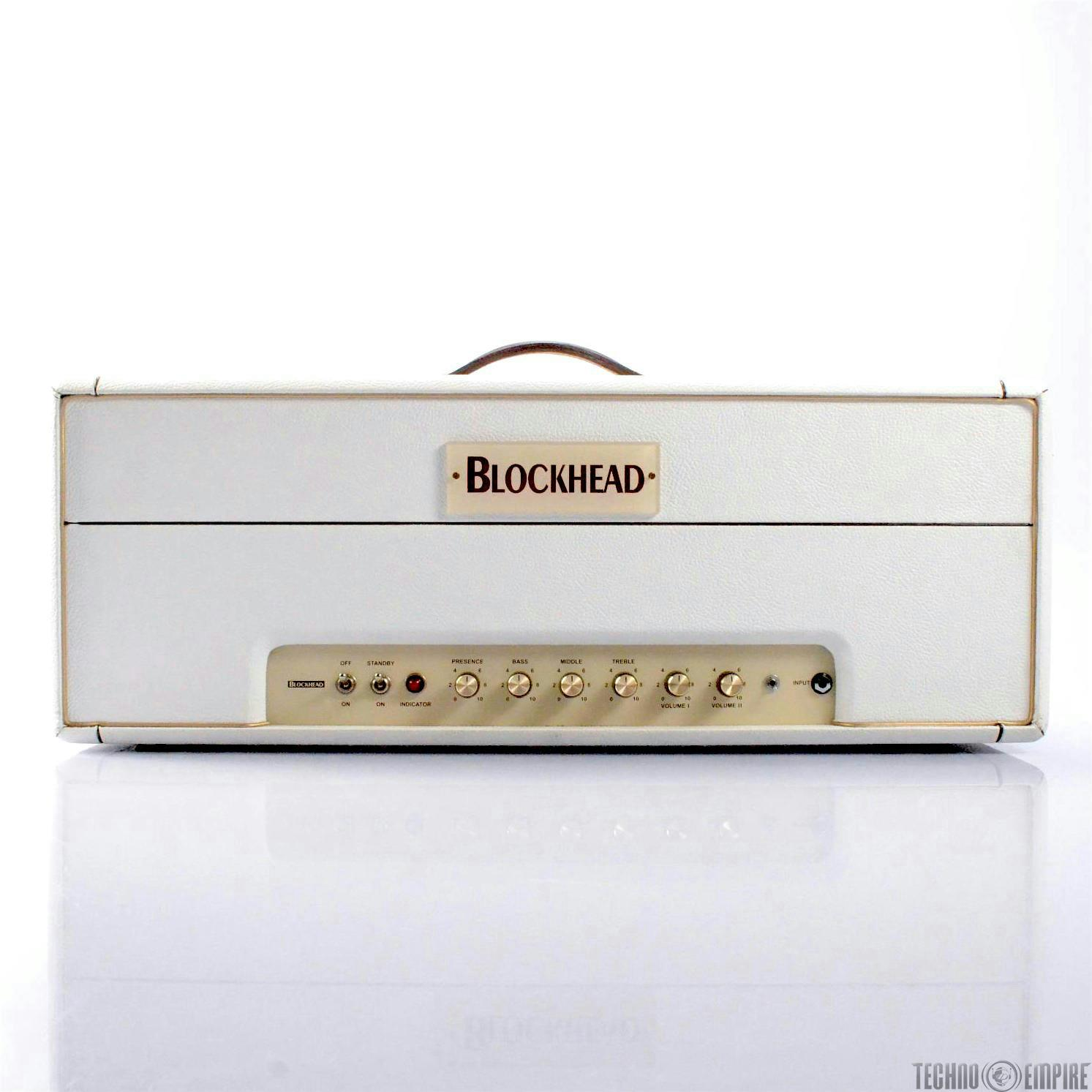 BLOCKHEAD Custom 50 Prototype Guitar Tube Amp Head Owned by Jerry Finn #27200