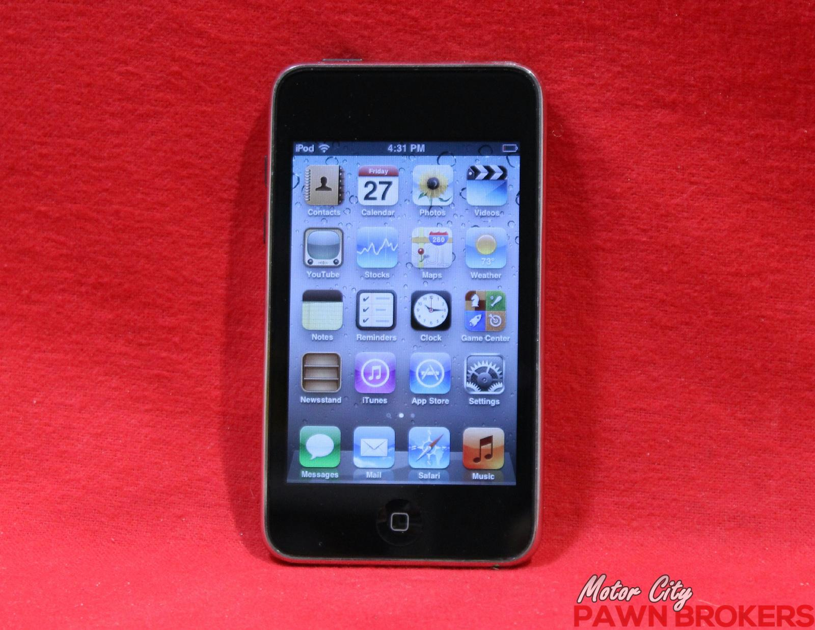 Apple (MC008LL) iPod Touch 3rd Generation - 32GB - Black ...