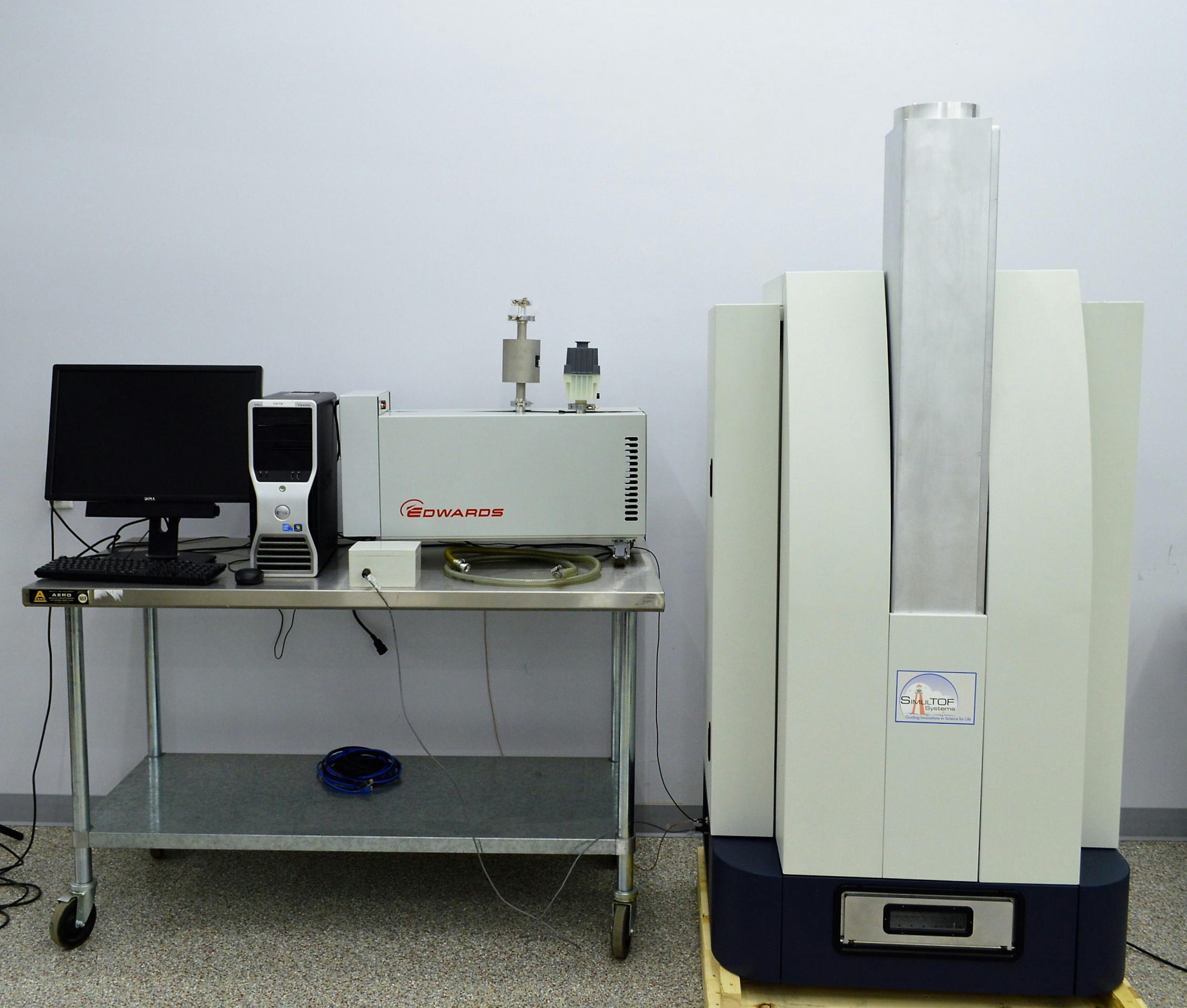 simultof mass spectrometer maldi