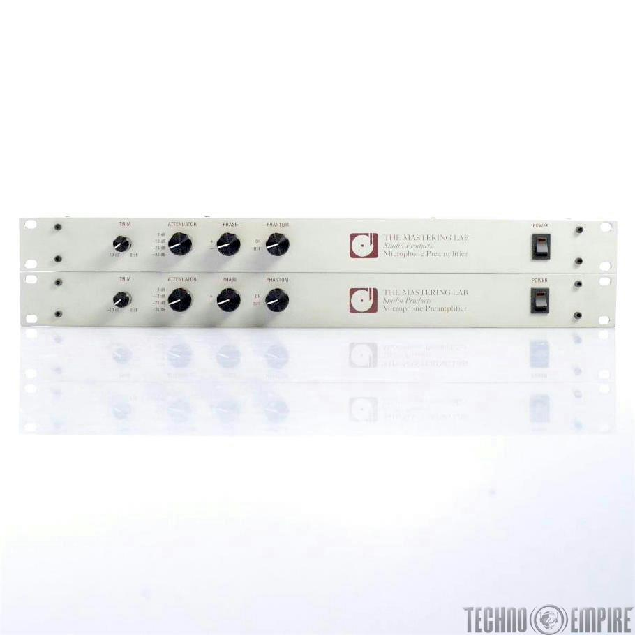 THE MASTERING LAB Studio Microphone Preamplifier Pair Owned by Jerry Finn #27257