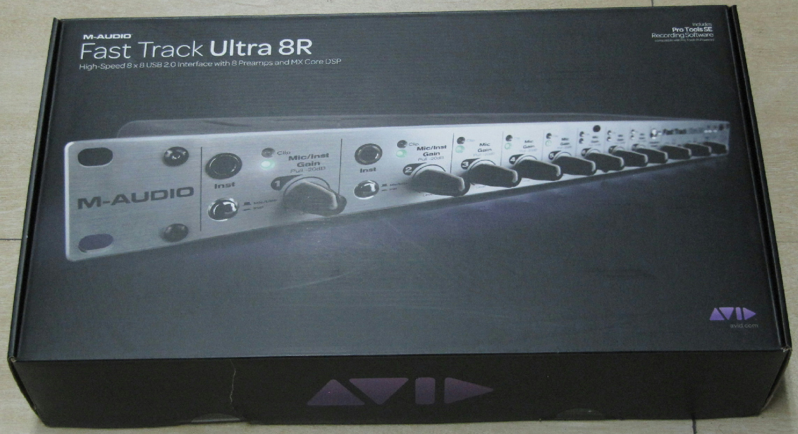 m audio fast track ultra 8r new in open packaging 612391440602 ebay. Black Bedroom Furniture Sets. Home Design Ideas