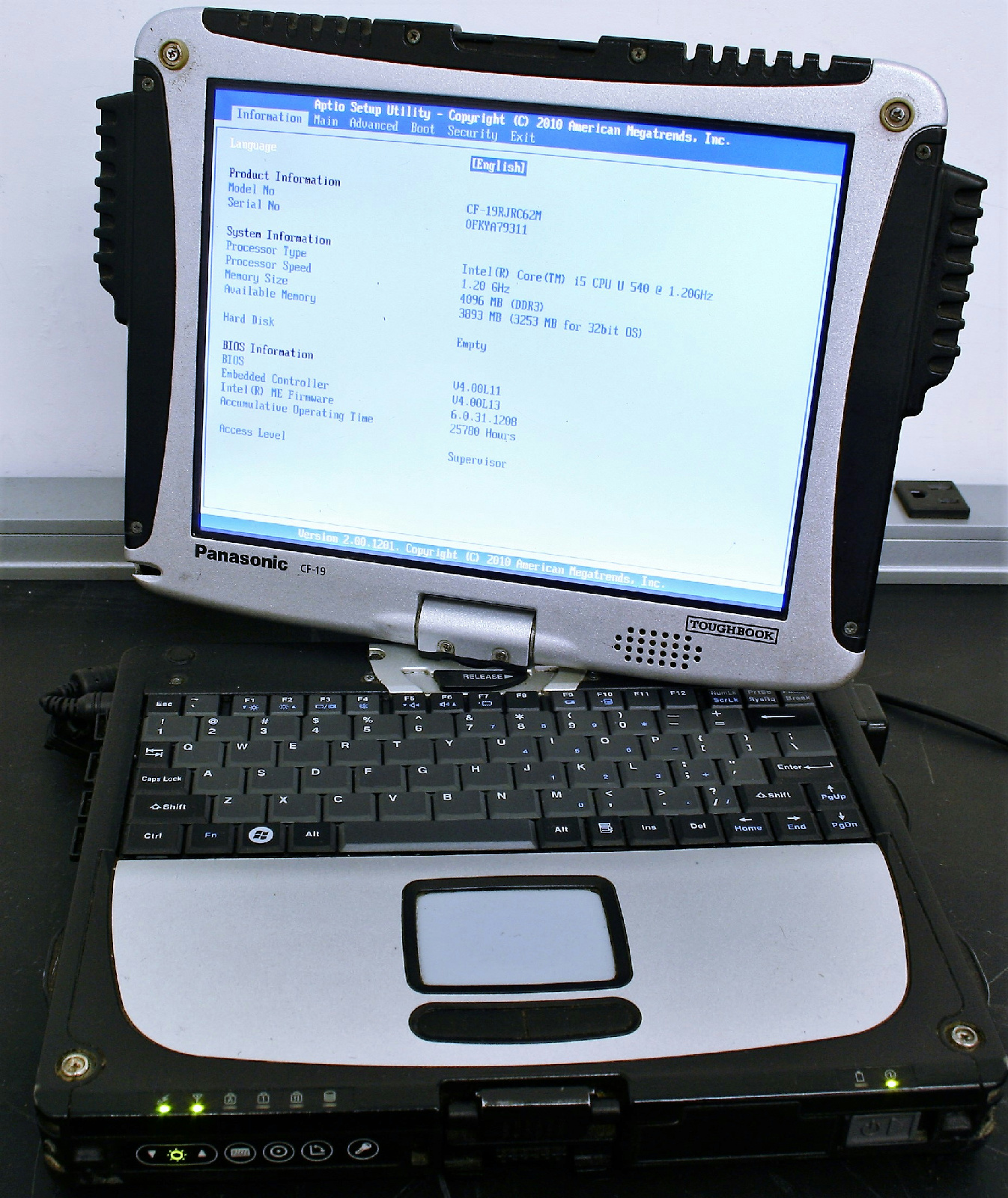 panasonic toughbook cf 19 service manual