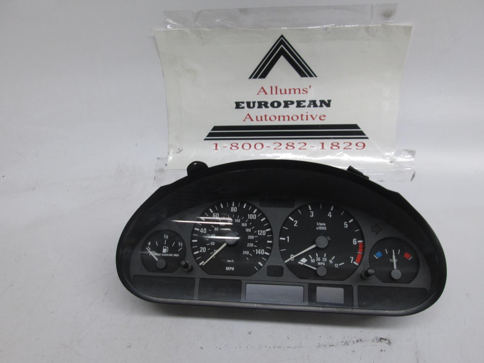 BMW E46 323i 328i instrument cluster 62116902371 #5