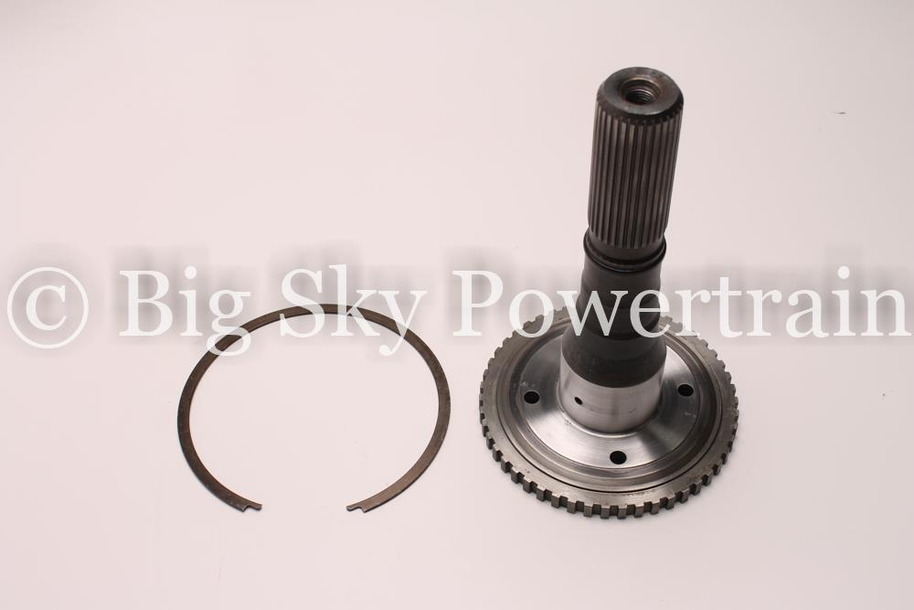 Details about 34678QA - 4L80E, OUTPUT SHAFT, 8 1/8