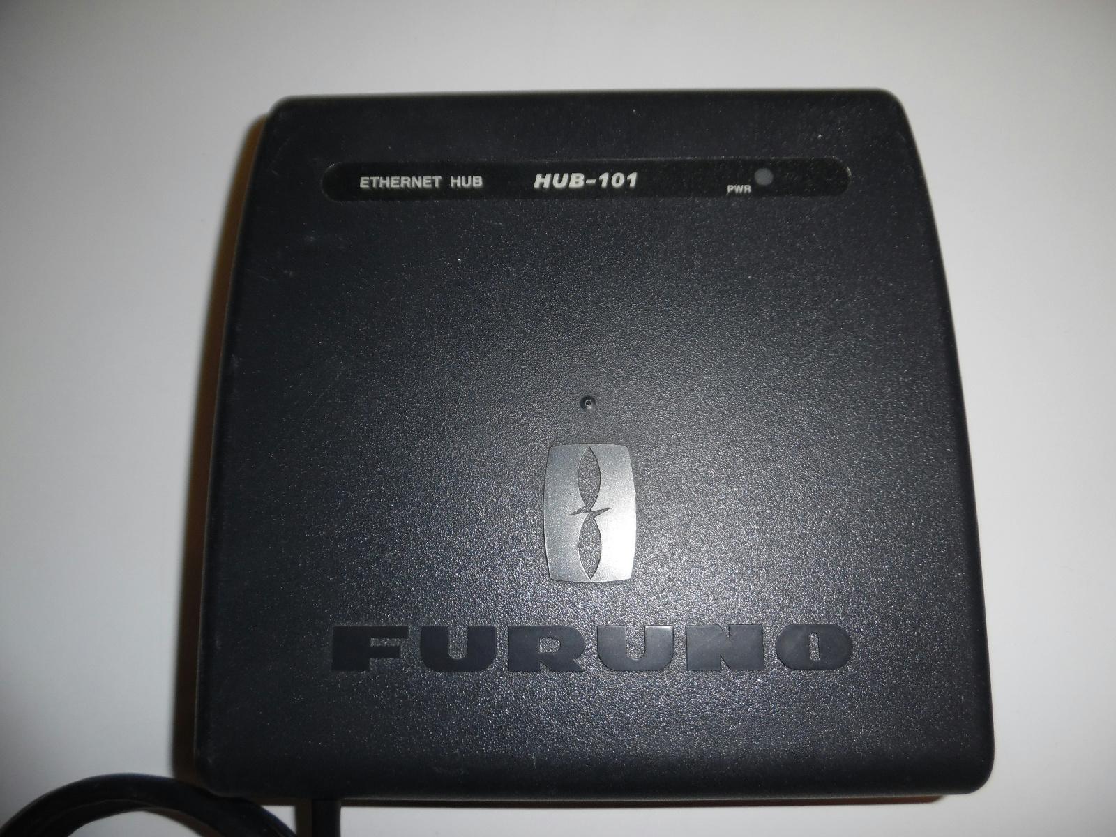furuno hub 101 ethernet switch hub for navnet 3d tz ethernet ebay. Black Bedroom Furniture Sets. Home Design Ideas