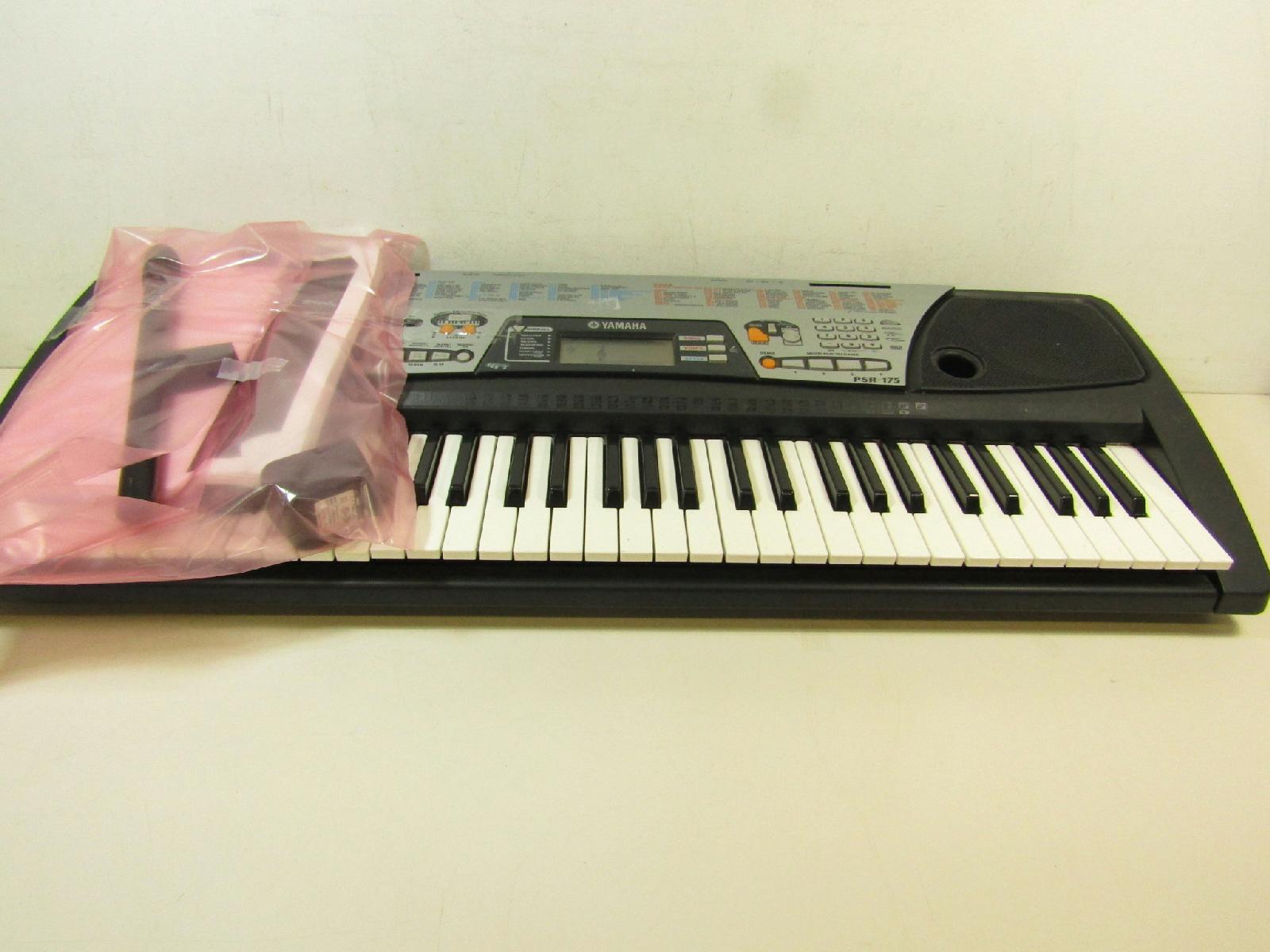 Yamaha model psr175 electric keyboard musical instrument for Yamaha piano keyboard models