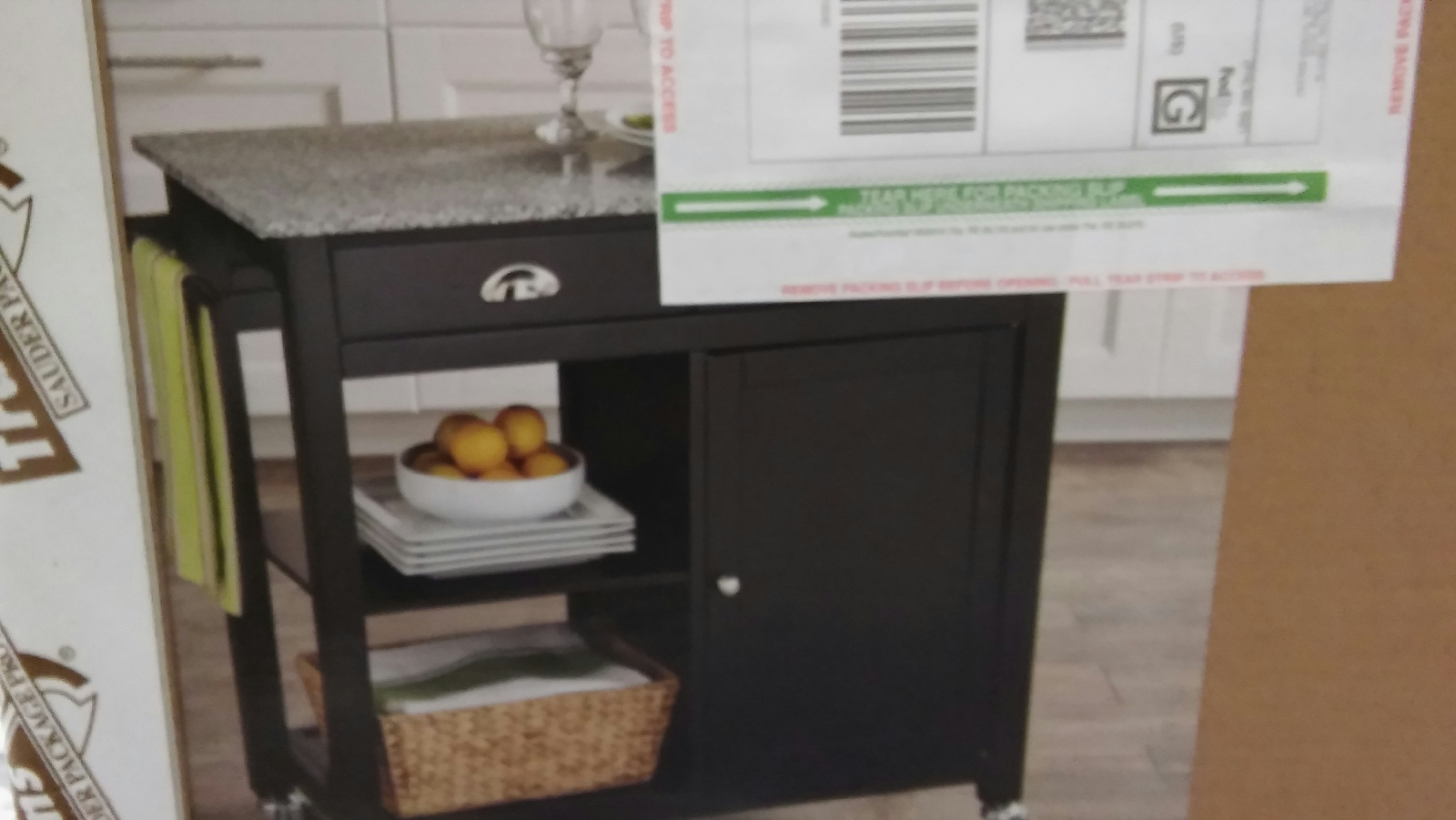 7 Popular Siding Materials To Consider: Better Homes & Gardens Kitchen Cart, Black/Granite Model
