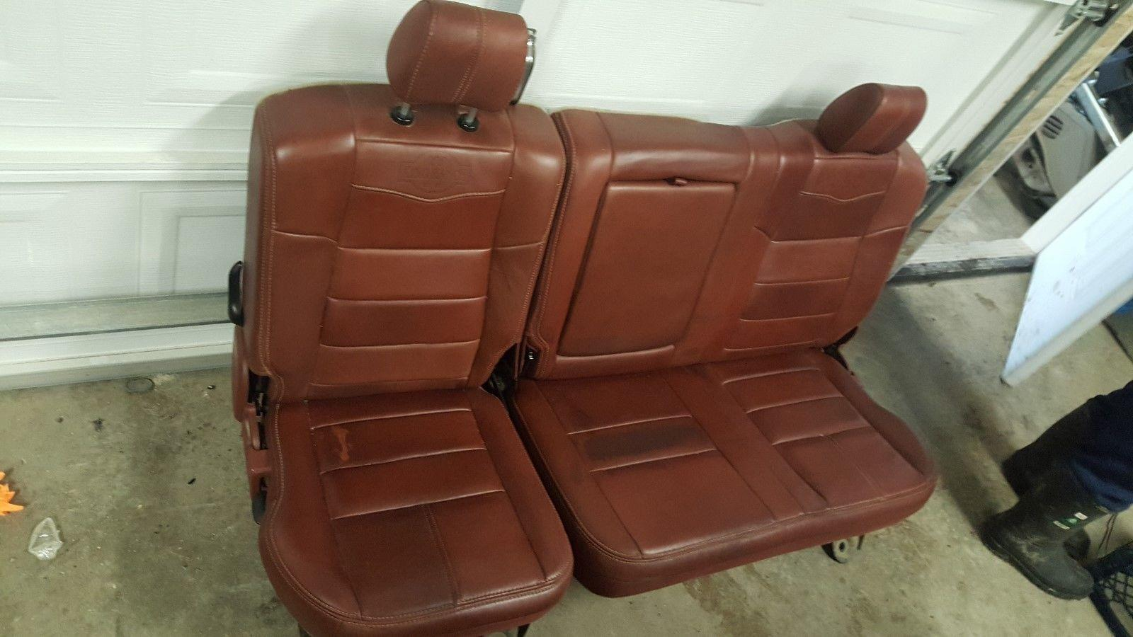 2008 2010 Ford F350 King Ranch Seats And Centre Console Out Of Crew Cab Ebay