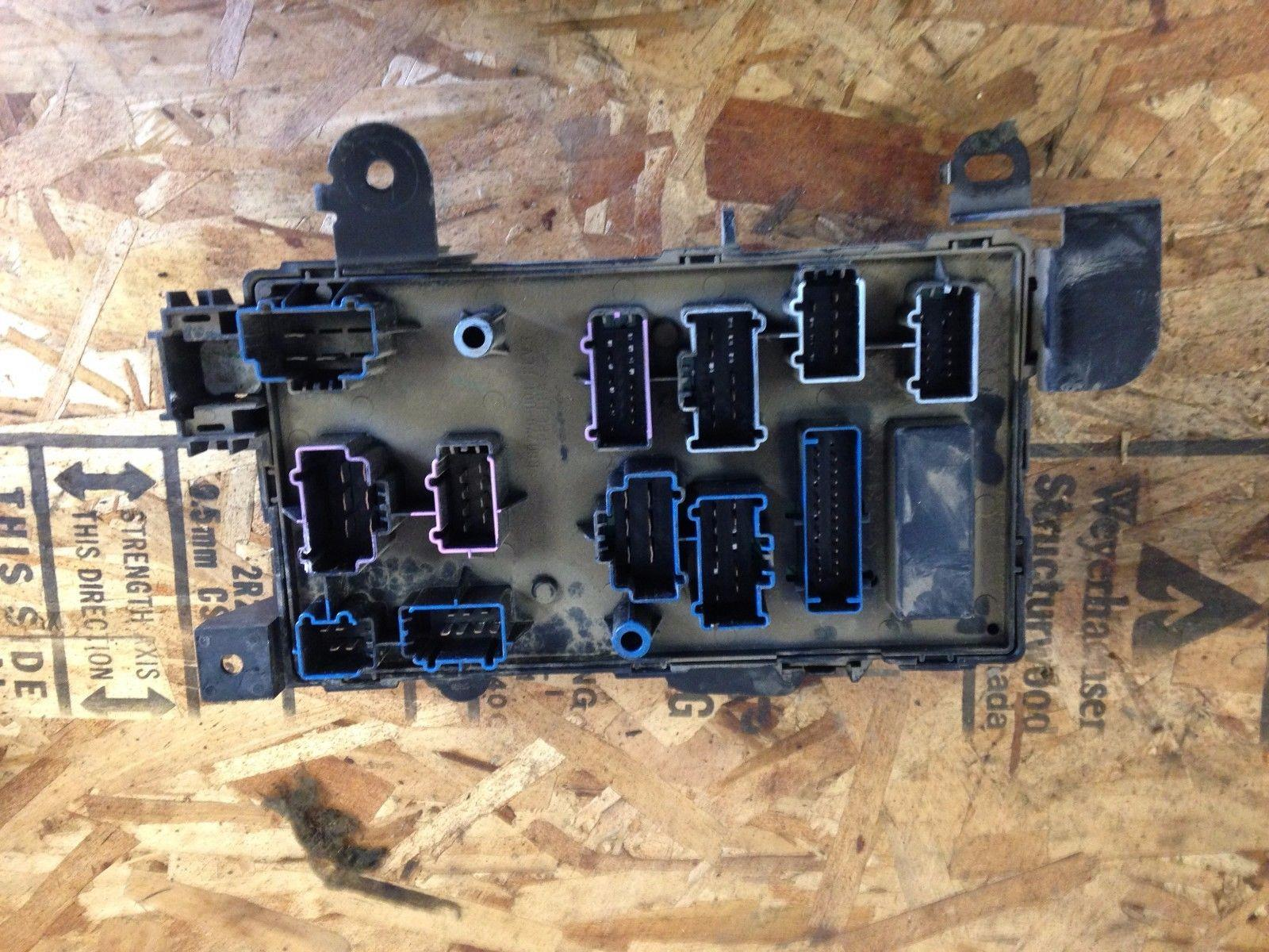 2005-2007 ford f250/f350 lariat under dash fuse box | ebay 2005 ford fuse boxes #2