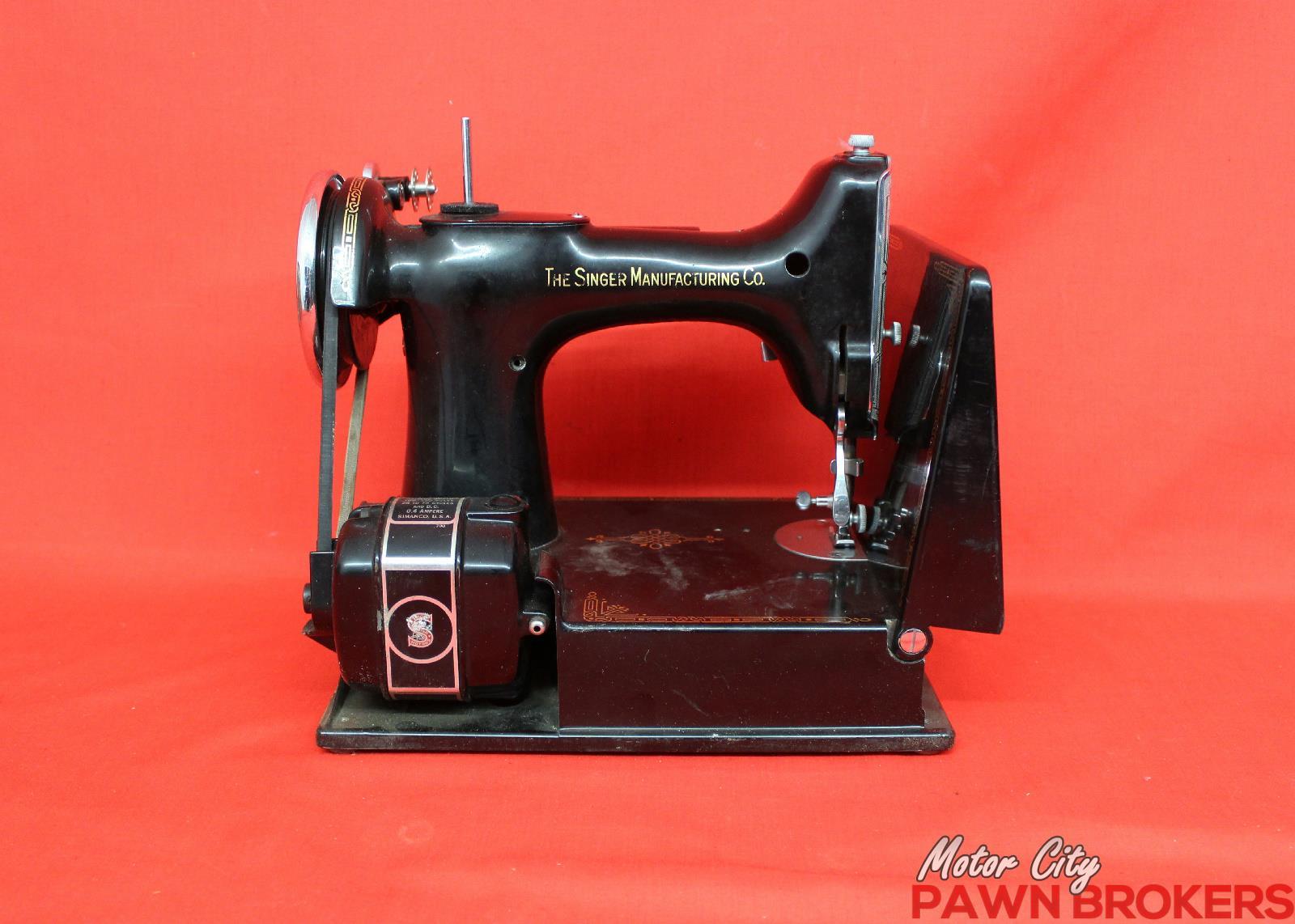 singer sewing machine 1940