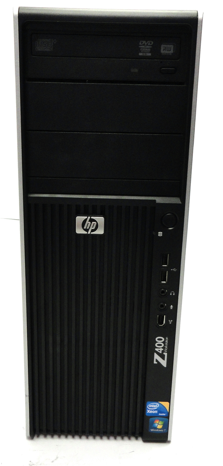 hp z400 workstation quad core xeon w3520 6gb ddr3 dvd rw. Black Bedroom Furniture Sets. Home Design Ideas