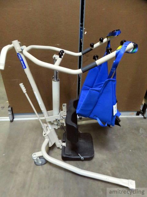 Invacare Get U Up Ghs350 Hydraulic Stand Up Lift W Sling