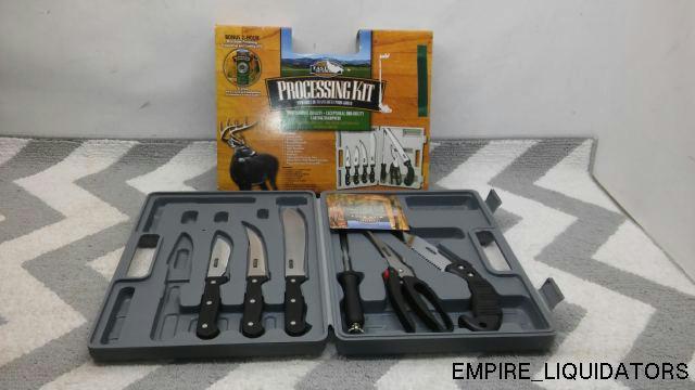 Processing Kit Machete Rain Suits Knive Set 20 Oz
