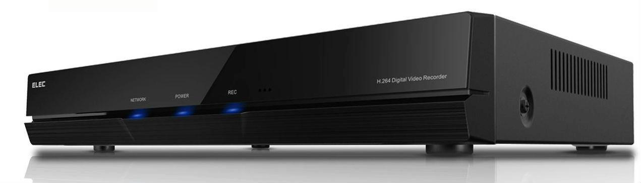 Elec e-Cloud 960H HDMI DVR 4CH 1500TVL Surveillance Security ...