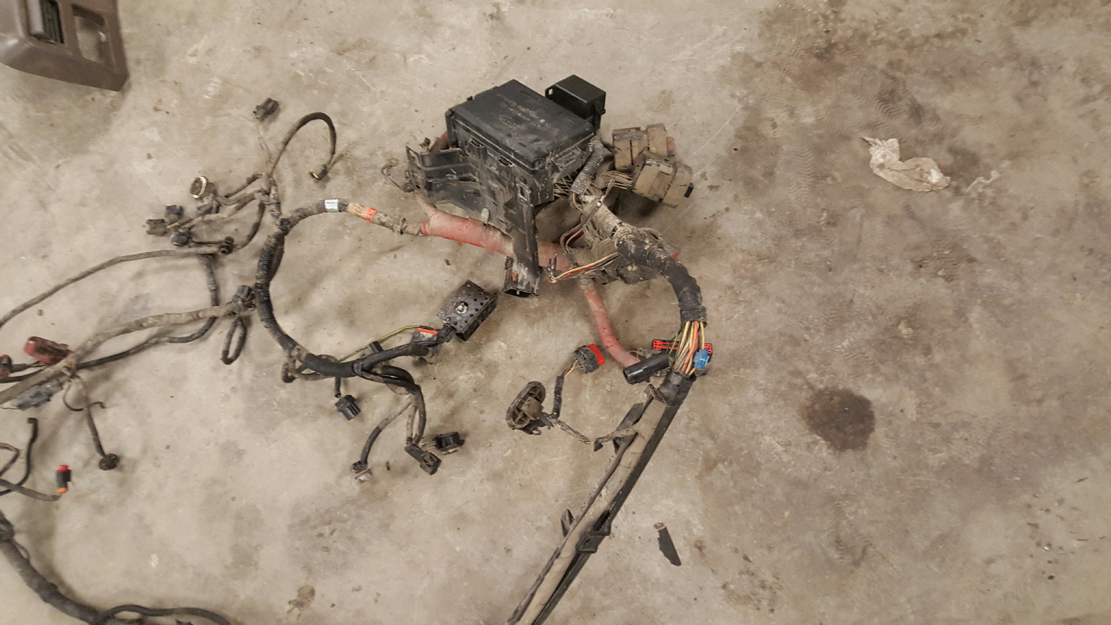 1999 2000 2001 2002 2003 Ford F250 F350 7 3l Engine Compartment Wiring Harness