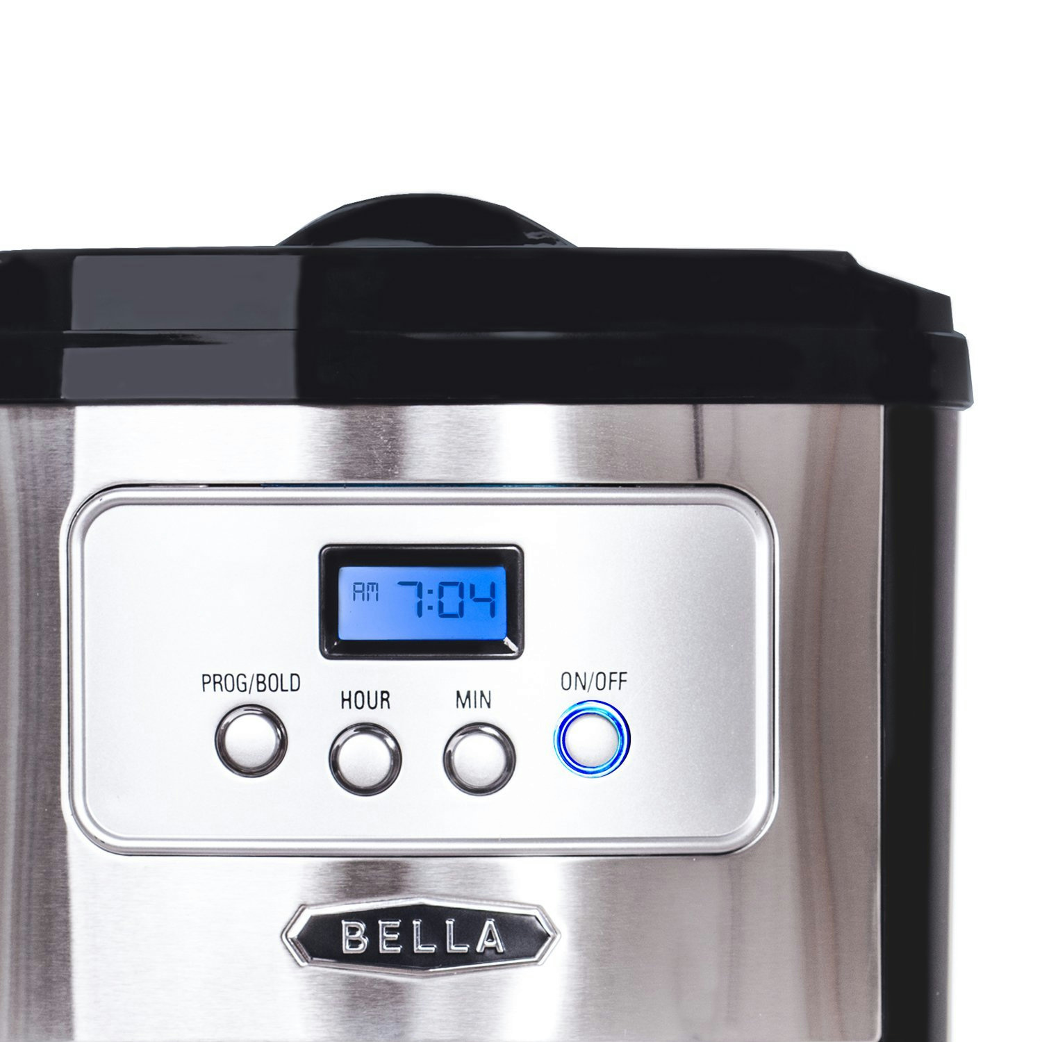 Bella Coffee Maker Auto Shut Off : NEW Bella 10 Cup Thermal Programmable Coffee Maker Reusable Filter Basket