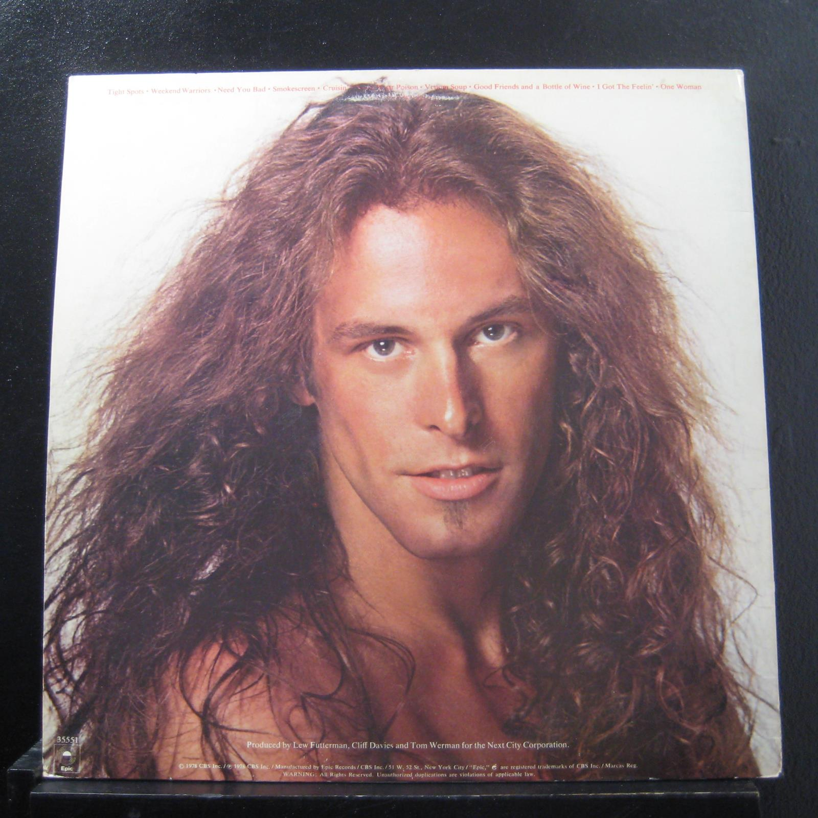 Ted Nugent Weekend Warriors Lp Vg Fe 35551 Epic 1978