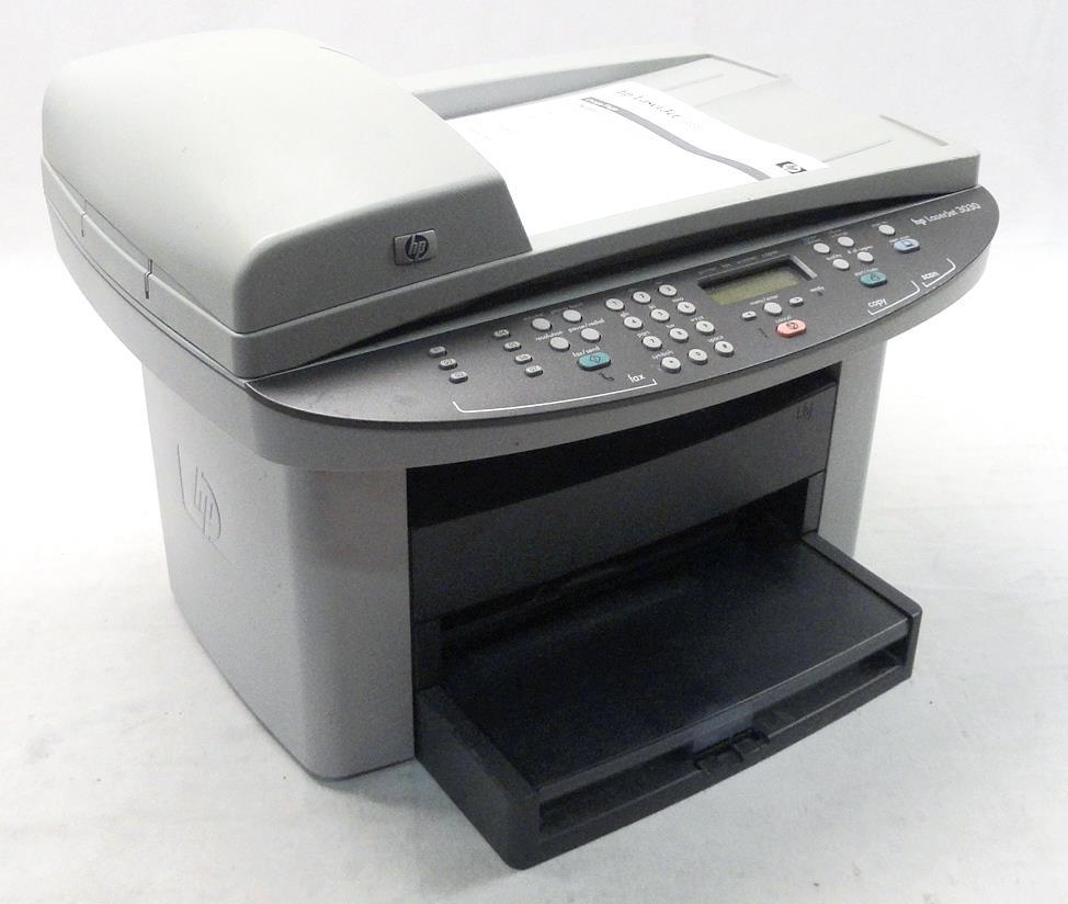 hp q2666a laserjet 3030 monochrome print copy fax pages printed 40 180 ebay. Black Bedroom Furniture Sets. Home Design Ideas