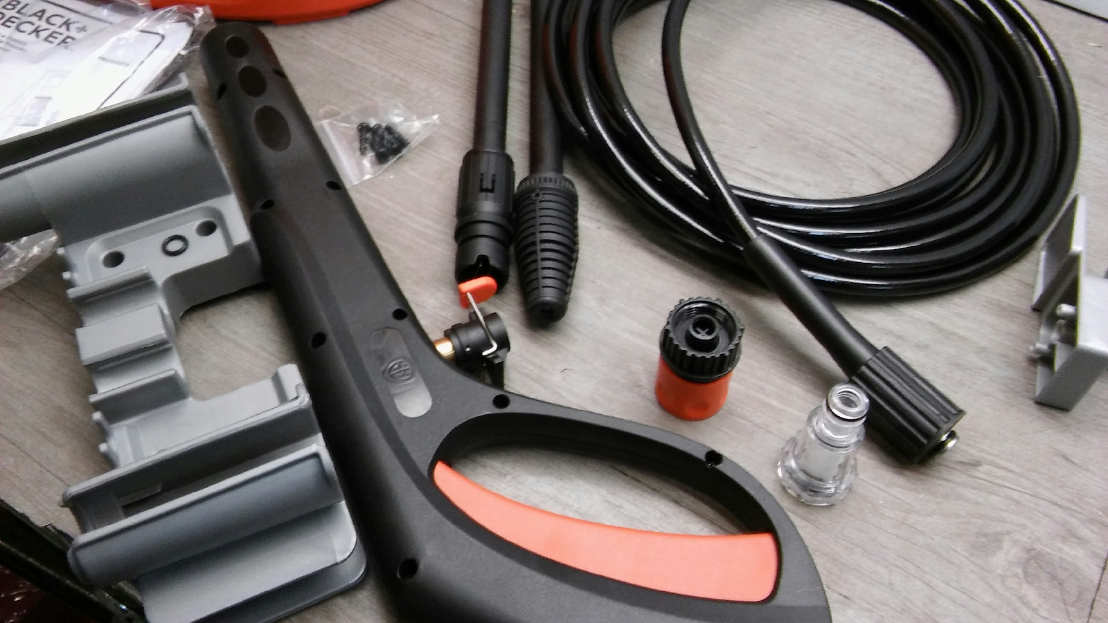 Black Decker 2175 Psi Electric Pressure Washer 2000w