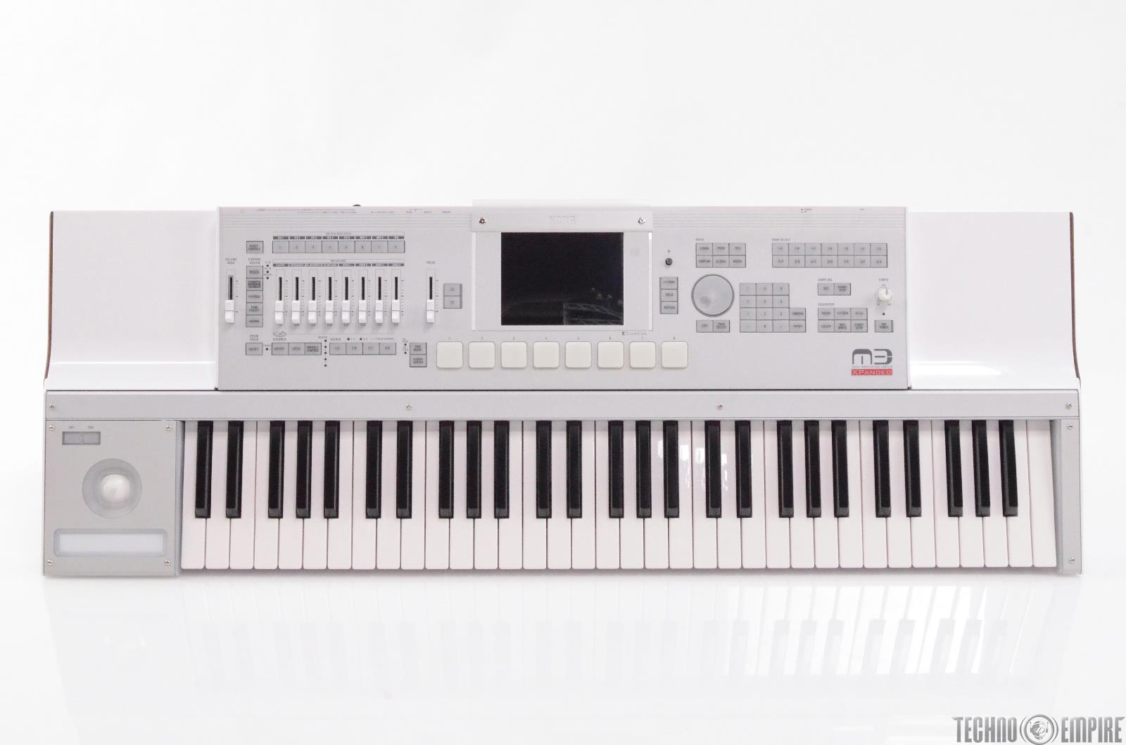korg m3 xpanded music workstation sampler 61 key keyboard 27674 4959112053922 ebay. Black Bedroom Furniture Sets. Home Design Ideas