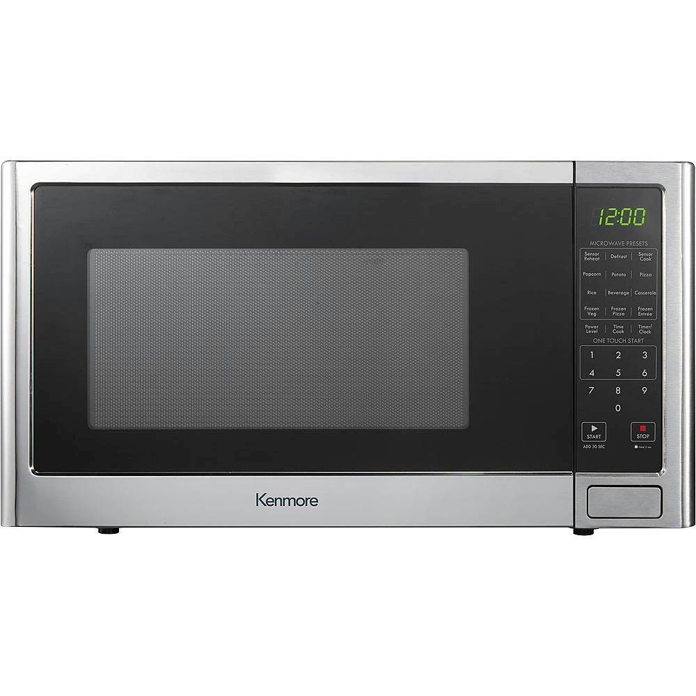 Kenmore 1 2 Cu Ft Microwave Oven Stainless Steel