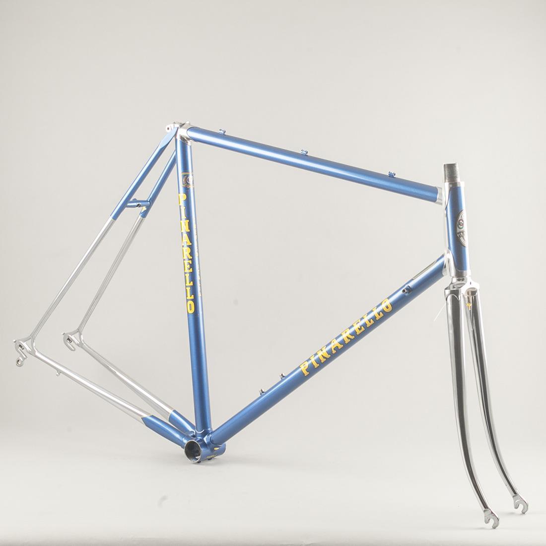 Usado Años 80 Pinarello especial restaurado Acero Bicicleta de ...