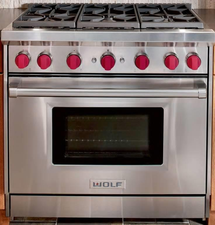 Wolf 36 Gas Range >> Details About Wolf 36 Ss 5 5 Cu Ft 6 Dual Stacked Sealed Burners Pro Style Gas Range Gr366