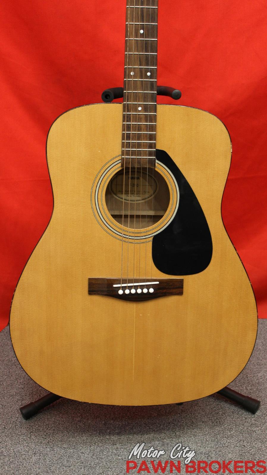 yamaha f 130 6 string right handed natural acoustic guitar ebay. Black Bedroom Furniture Sets. Home Design Ideas