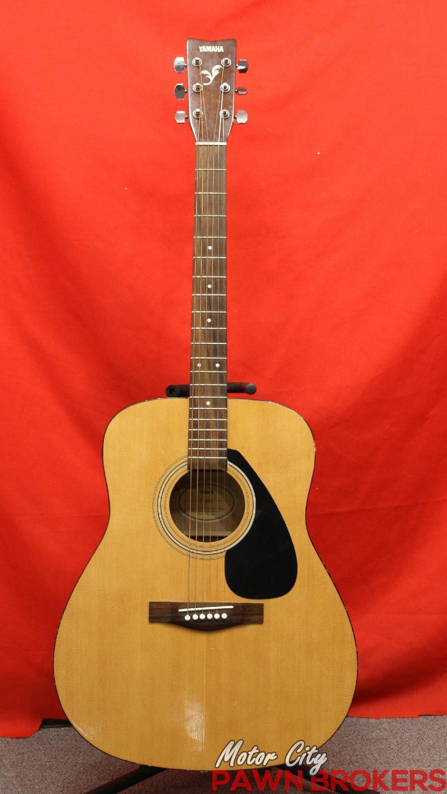 Yamaha f 130 6 string right handed natural for Yamaha acoustic guitar ebay