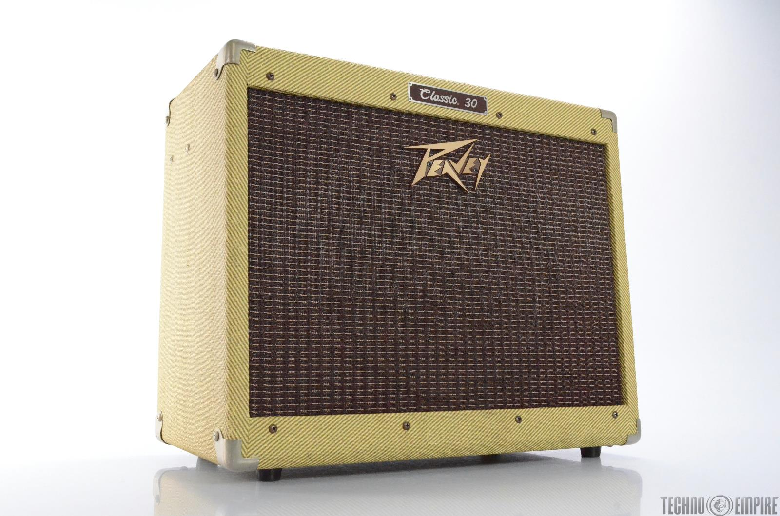 peavey classic 30 1x12 30 watt tweed tube guitar combo amp amplifier 27763. Black Bedroom Furniture Sets. Home Design Ideas
