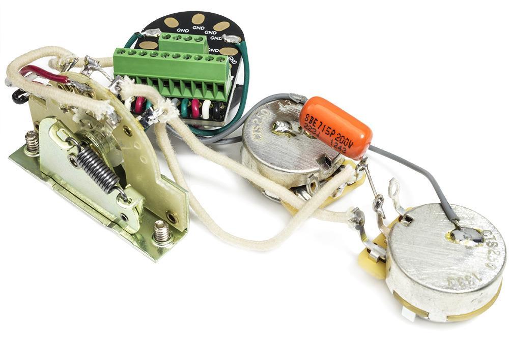 Hdcustom Solderless Wiring Harness For Stratocaster W