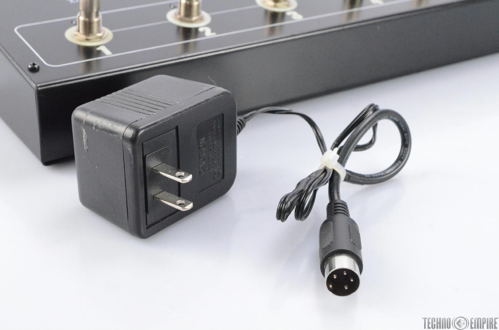 rocktron patchmate loop 8 floor audio switcher guitar foot pedal midi 27090. Black Bedroom Furniture Sets. Home Design Ideas