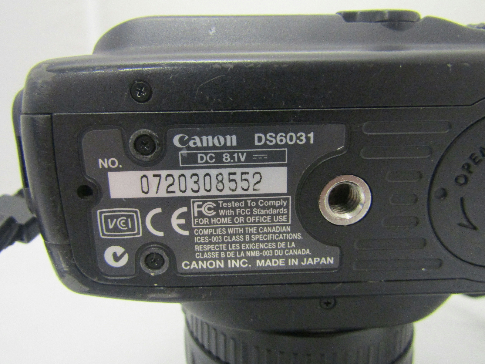 Canon ds6031