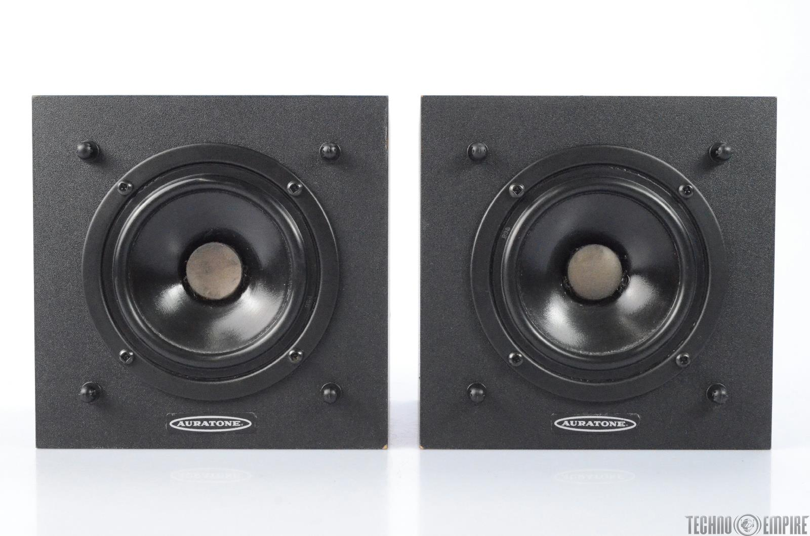 Auratone Ultra Sound Cube Studio Monitor Speakers #27685