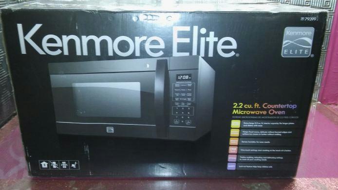 Kenmore Elite 79399 2 2 Cu Ft Counter Top Microwave Oven