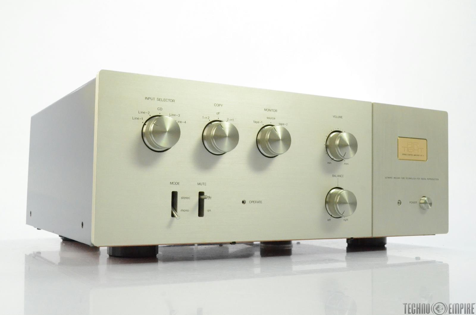 AIR TIGHT ATC-2 Stereo Preamplifier Line-Control Amplifier #27798