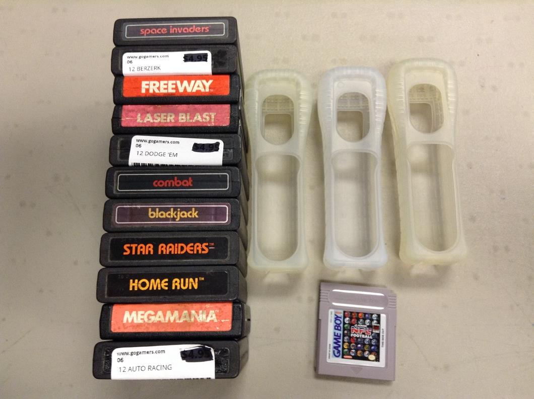 Lot of 15 Assorted Games and Accessories! Atari 2600 ...