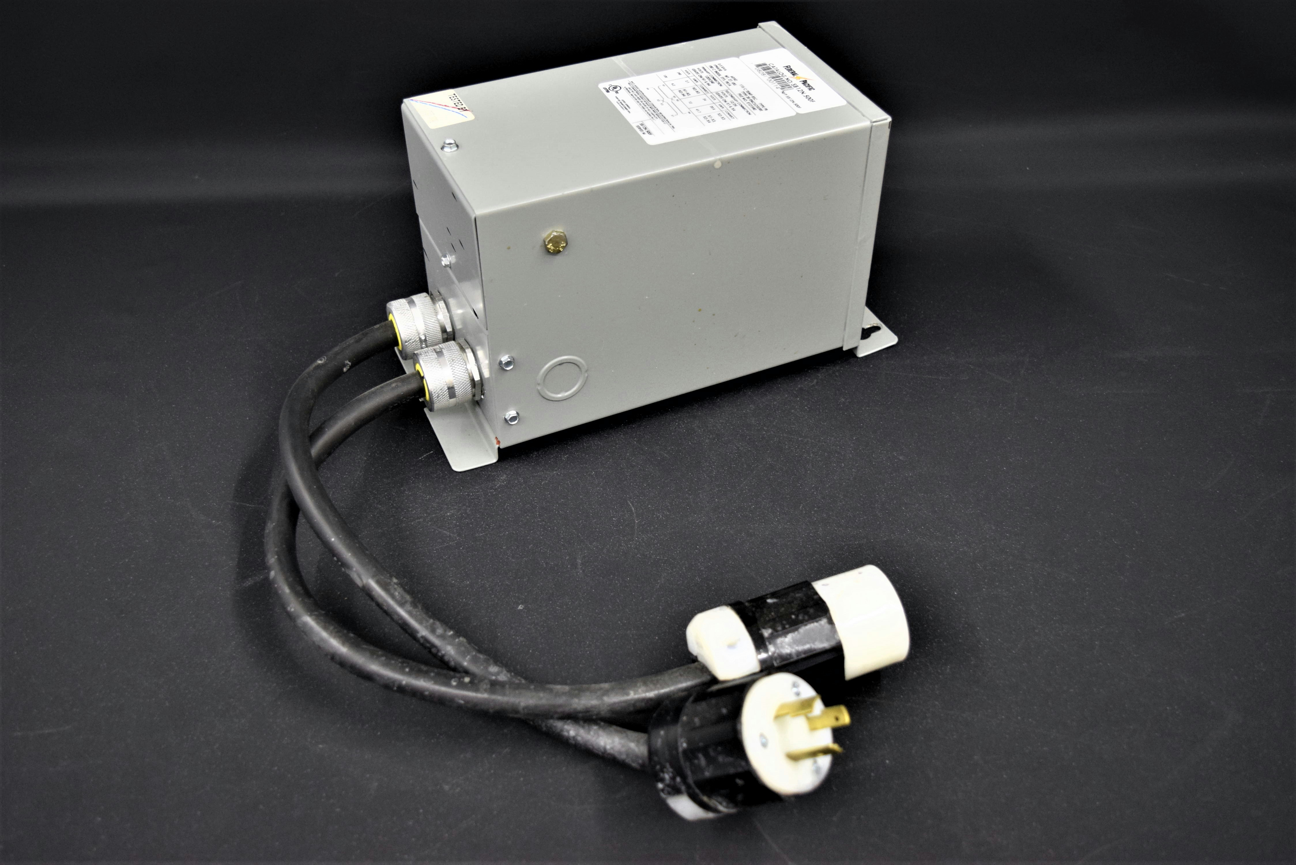 FEDERAL PACIFIC SB12N.500F Buck Boost Transformer No Taps 120x240 12 ...