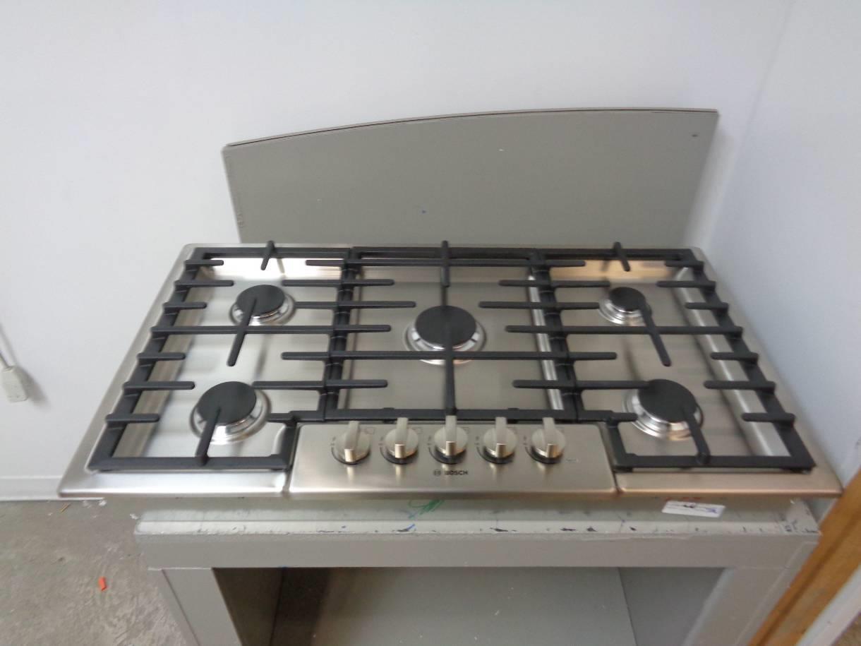 Bosch Countertop Stove : BOSCH NGM8655UC 36