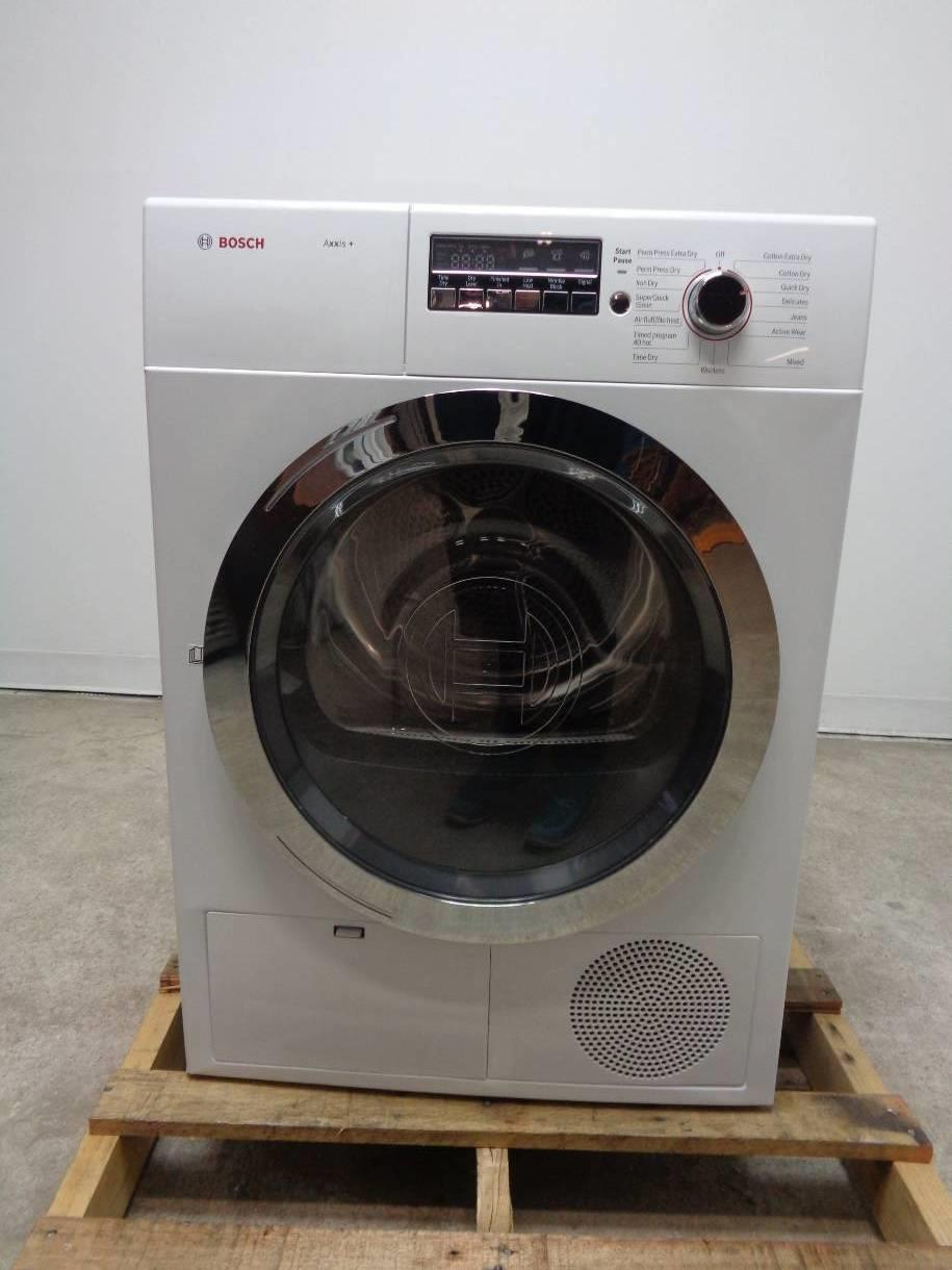Bosch Axxis Plus Series Wtb86202uc Front Load Dryer Ebay