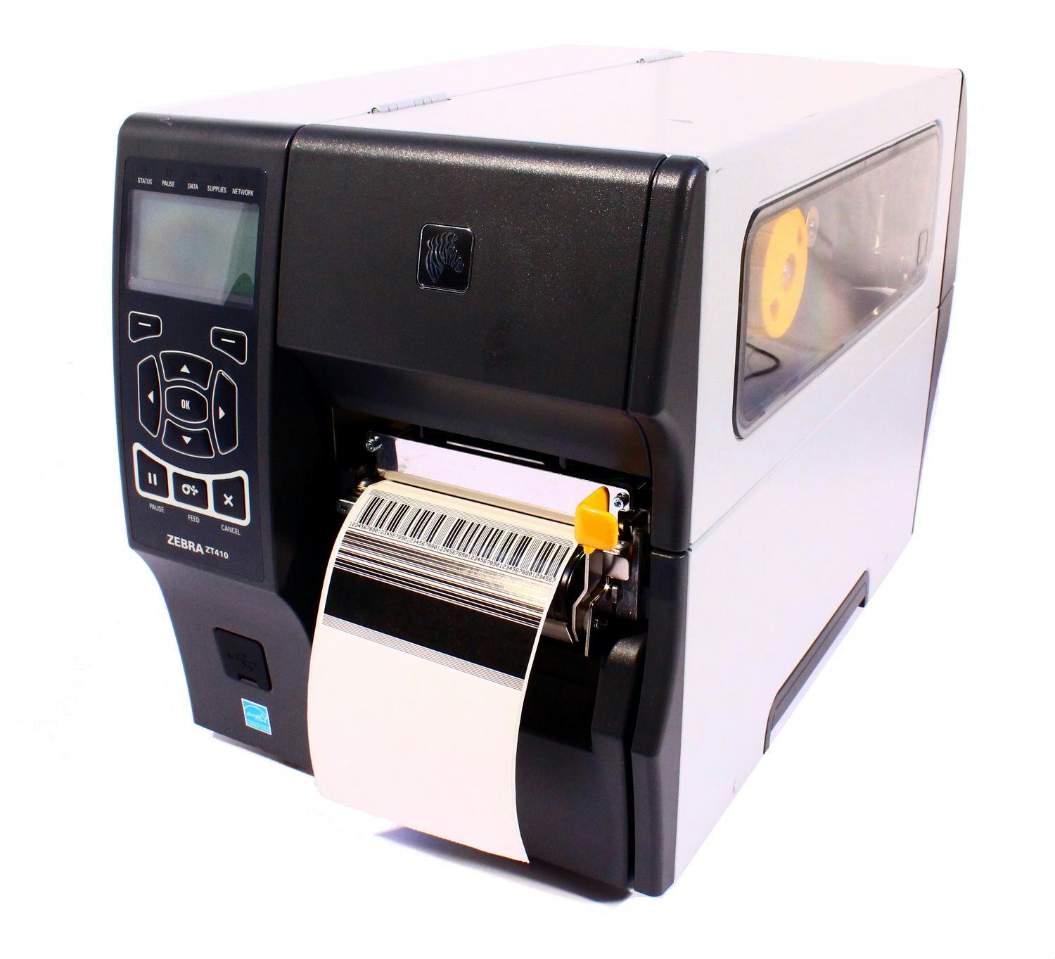 This is a picture of Clever Zebra Gk888t Label Barcode Printer