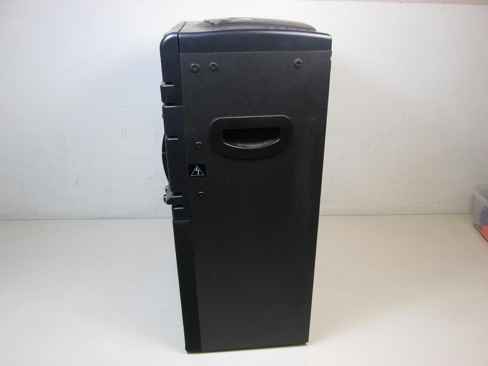 vocopro dvd duet karaoke machine bundle soft case partially tested ebay. Black Bedroom Furniture Sets. Home Design Ideas