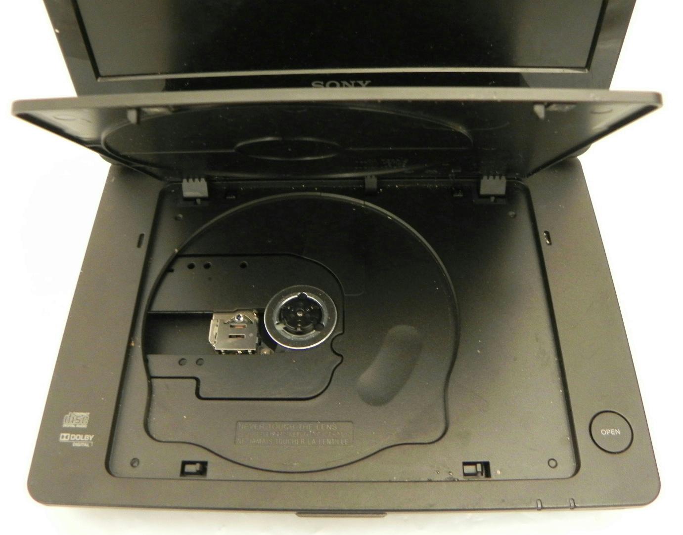Dvp Closure Gallery: SONY Portable CD / DVD Player DVP-FX950 9 Inch Swivel