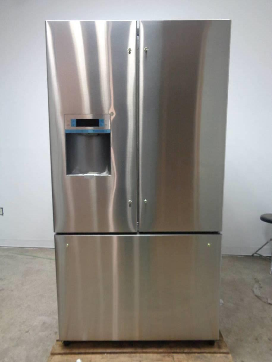 bosch 36 25 9 cu ft stainless steel french door refrigerator b26ft80sns 825225923466 ebay. Black Bedroom Furniture Sets. Home Design Ideas
