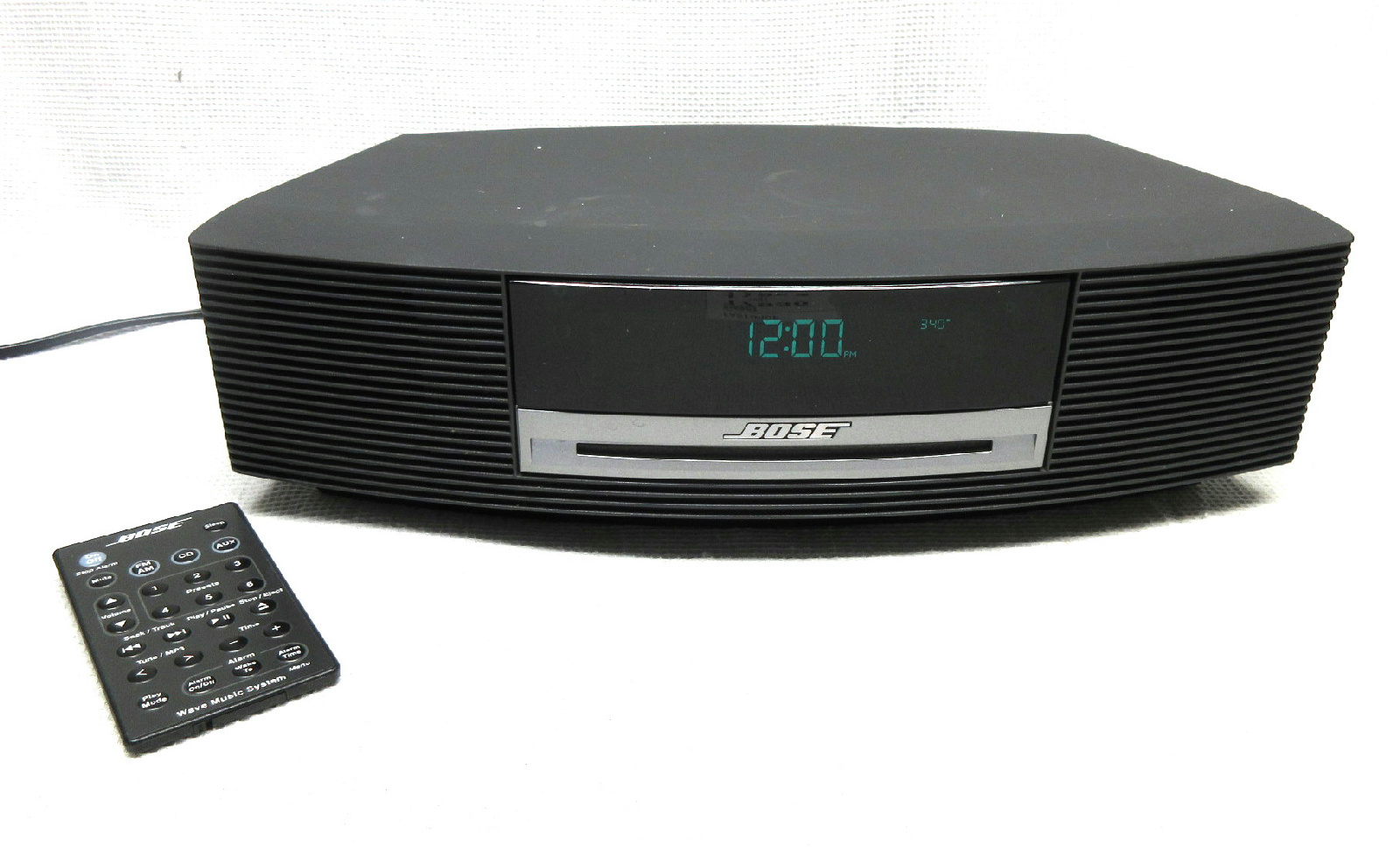 bose wave music system model awrcc1 cd player graphite. Black Bedroom Furniture Sets. Home Design Ideas
