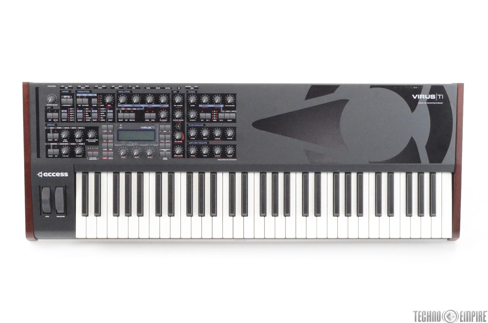 ACCESS Virus TI 61-Key Synthesizer Keyboard Synth w/ Extra Cables #28173